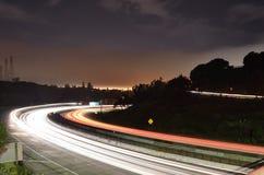 Oakland Freeway Royalty Free Stock Photo