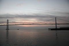 Oakland-Hafen San Francisco-Oakland Stockbild