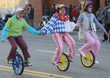 Oakland Holiday Parade. 2013 Holiday Parade in the City of Oakland Royalty Free Stock Photo