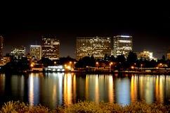 Oakland nachts Stockbilder