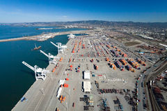 The Oakland Outer Harbor Stock Photography