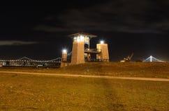 Oakland-Park nachts Lizenzfreie Stockbilder