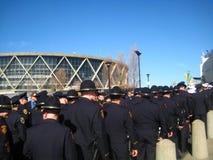 Oakland-Polizei-Begräbnis Stockfoto
