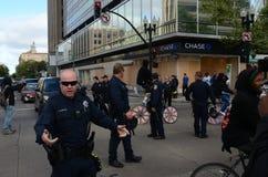 Oakland-Protest Stockbilder