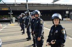 Oakland-Protest Stockfotografie