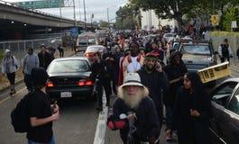 Oakland-Protest Lizenzfreie Stockbilder