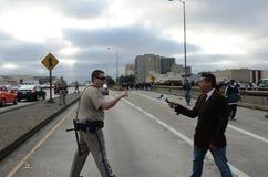 Oakland-Protest Lizenzfreie Stockfotografie