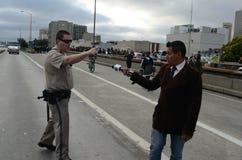 Oakland-Protest Stockfoto