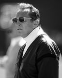 Oakland Raiders owner Al Davis. Long time owner of the Oakland Raiders Al Davis (Image taken from B&W negative Stock Photography