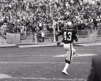 Oakland RaidersPR George Atkinson #43 Fotografering för Bildbyråer
