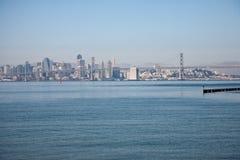 Oakland-Schacht-Brücke stockbild