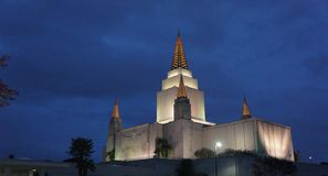 Oakland Temple Royalty Free Stock Images