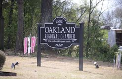 Oakland Tennessee Regional Chamber. Chamber of Commerce in Oakland, TN, Oakland is a town in Fayette County, Tennessee, United States. In 2010 the population of stock photography