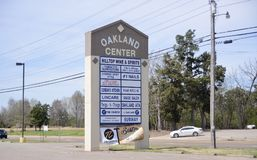 Oakland Tennessee Shopping Center Stockbilder