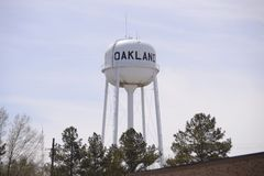 Oakland Tennessee Water Tower Lizenzfreie Stockbilder