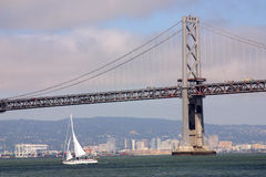 Oakland und San Francisco Stockfoto