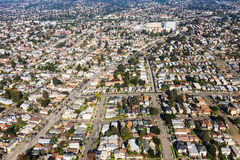 Oakland widok z lotu ptaka Obrazy Royalty Free