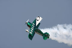 Oakley Bremsungs-Flugzeug Stockbild