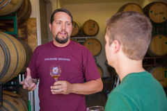 Oakshire Brewing Barrel Beers Stock Photography