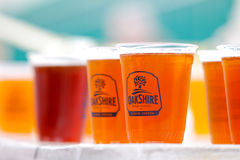 Oakshire Brewing Beer Eugene, OR Royalty Free Stock Images