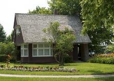 Oakville历史协会的地面在安大略的 免版税图库摄影