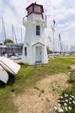 Oakville Lighthouse by Lake Ontario. Ontario, Canada Royalty Free Stock Image