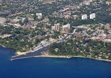 Oakville Ontário, aéreo Fotos de Stock