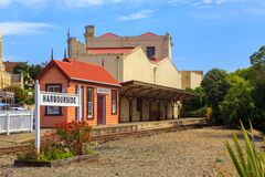 Free Oamaru Harbourside Station Royalty Free Stock Photos - 178931718