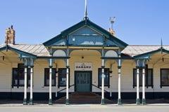 Oamaru, Railway Station Royalty Free Stock Image