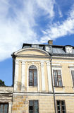 Oanvänd forntida slott Arkivbild