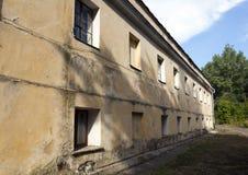 Oanvänd forntida slott Royaltyfria Foton