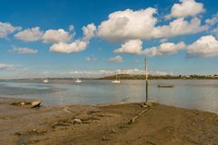 Oare Marshes, England, UK Royalty Free Stock Photo
