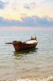 Oared boat Royalty Free Stock Photo