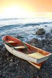 Oared boat Stock Image