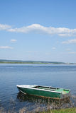 Oared boat Royalty Free Stock Photography