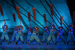 """Oarsman-Dance drama """"The Dream of Maritime Silk Road"""". Dance drama """"The Dream of Maritime Silk Road"""" centers on the plot of two generations of a stock photography"""