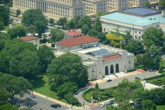 OAS-byggnad i Washington DC, USA Arkivfoto