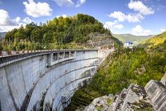 Oasa水坝,罗马尼亚 免版税图库摄影