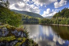 Oasa湖,罗马尼亚 免版税库存图片