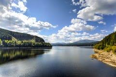 Oasa湖,罗马尼亚 库存图片