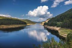 Oasa Lake from Sureanu mountains, Alba county, Transalpina, Tran. Sylvania, Romania Royalty Free Stock Photography