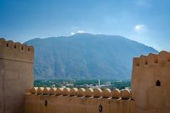 Oase in de Woestijn royalty-vrije stock foto's