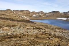 Oase in der Ost-Antarktis Stockbild