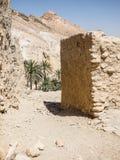Oase in Tunesië stock foto