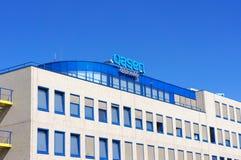 Oasen-Getränkwasserversorger, Gouda, die Niederlande lizenzfreie stockfotos