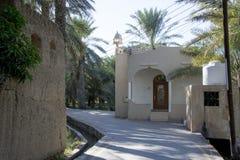 Oasi Al Hamra Oman Immagine Stock
