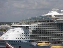 Oasi caraibica reale dei mari Immagini Stock