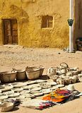 Oasi di Dakhla, negozio immagine stock