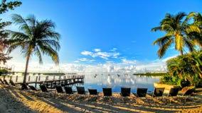 Oasi tropicale Fotografia Stock Libera da Diritti
