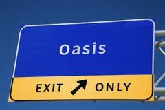 Oasis Royalty Free Stock Photos